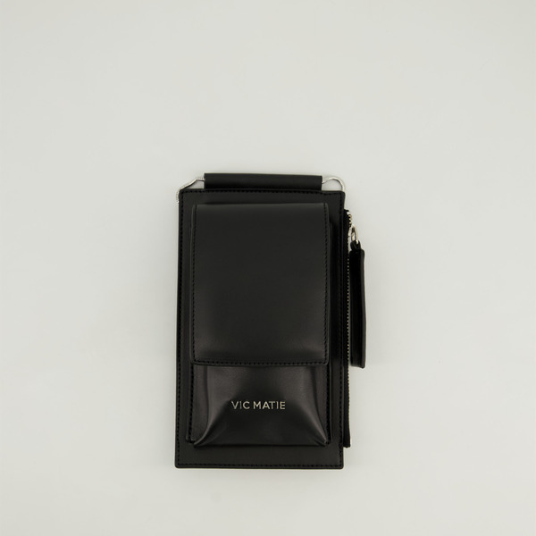 Vic Matie Handyhüllen BORSETTA VANITYS schwarz