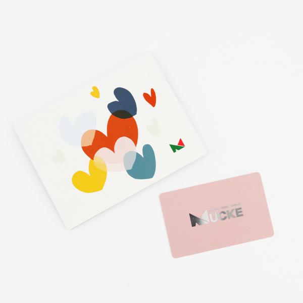 Schuh Mücke  Geschenkkarte/Wertgutschein