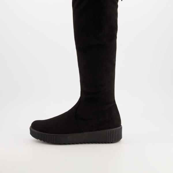 Remonte Plateaustiefel Stiefel schwarz