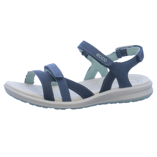 ecco Cruise II Damen klassische Sandale Blau Schuhe, Größe:39