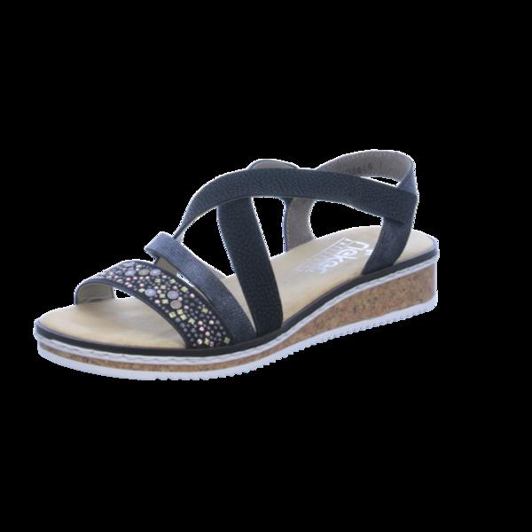 Rieker sandalen schwarz | Heerlijk Rieker Sandalen Damen Schwarz