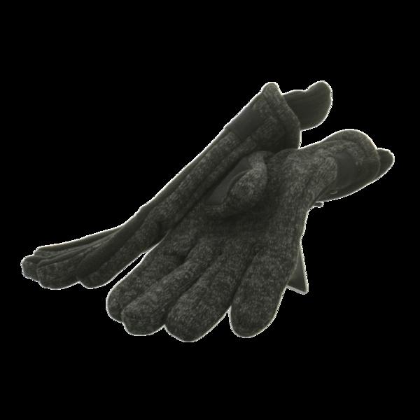 Seiden Grohn Handschuhe Herren-Handschuh schwarz