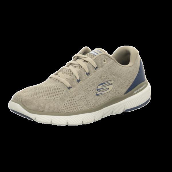 Skechers Flex Advantage 3.0 Stally Sneakers Herren Beige